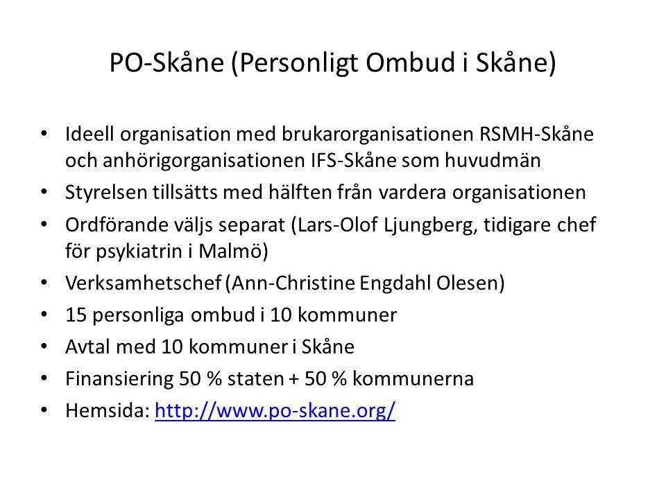 PO-Skåne (Personligt Ombud i Skåne)