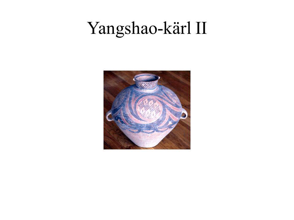 Yangshao-kärl II Kärlen användes för att förvara gryn