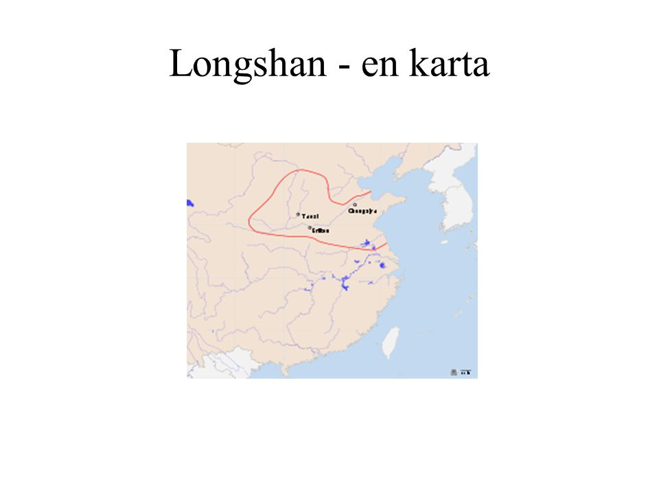 Longshan - en karta
