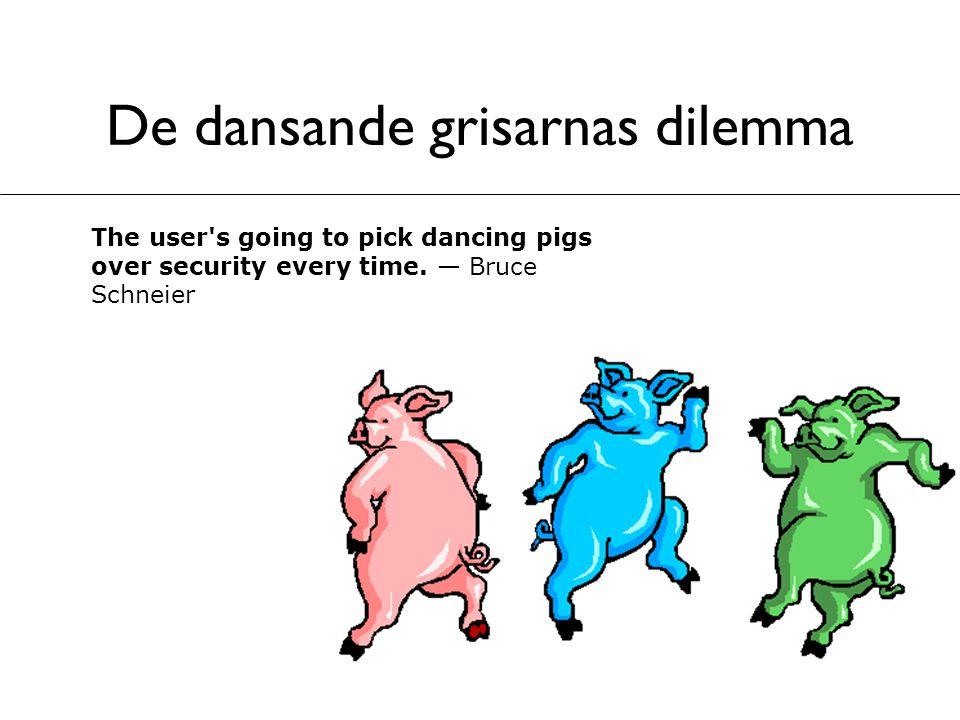 De dansande grisarnas dilemma