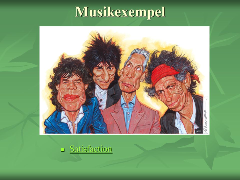 Musikexempel Satisfaction