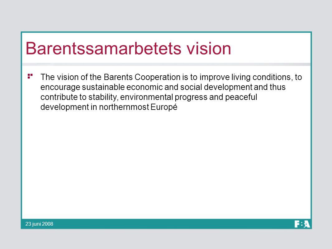 Barentssamarbetets vision