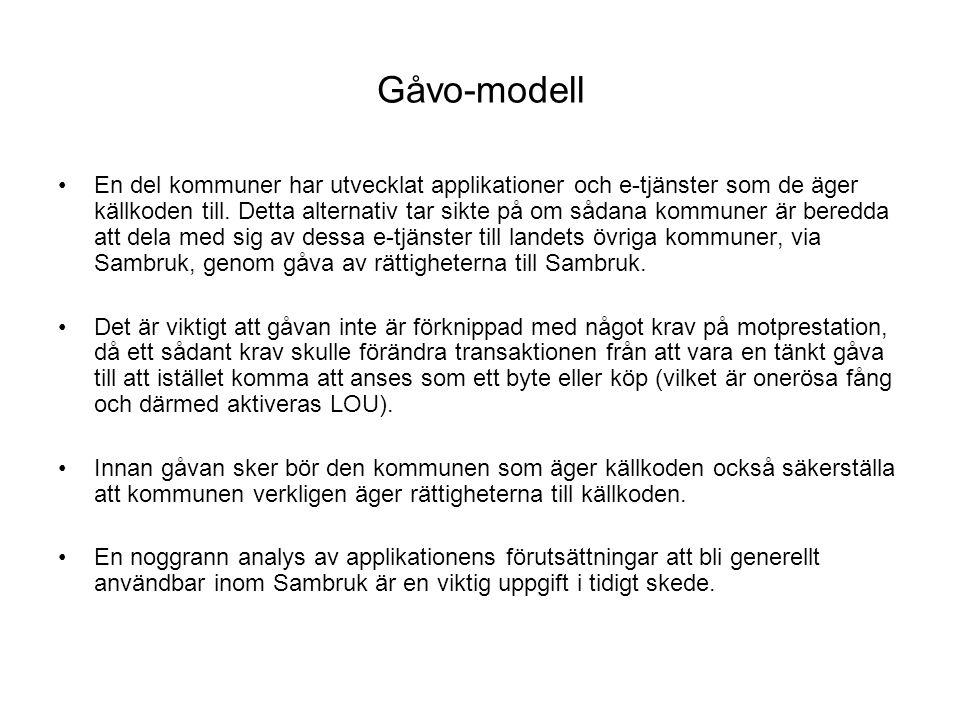 Gåvo-modell