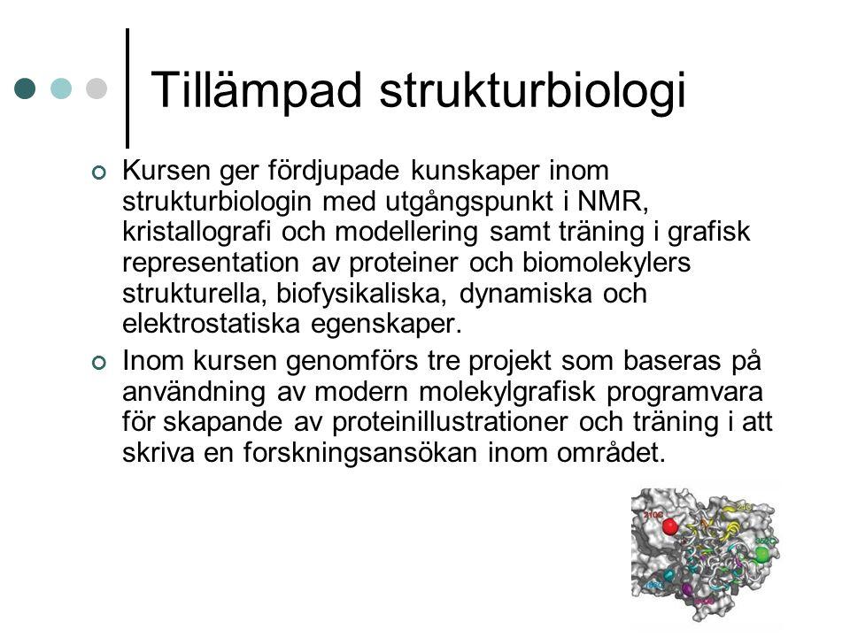 Tillämpad strukturbiologi