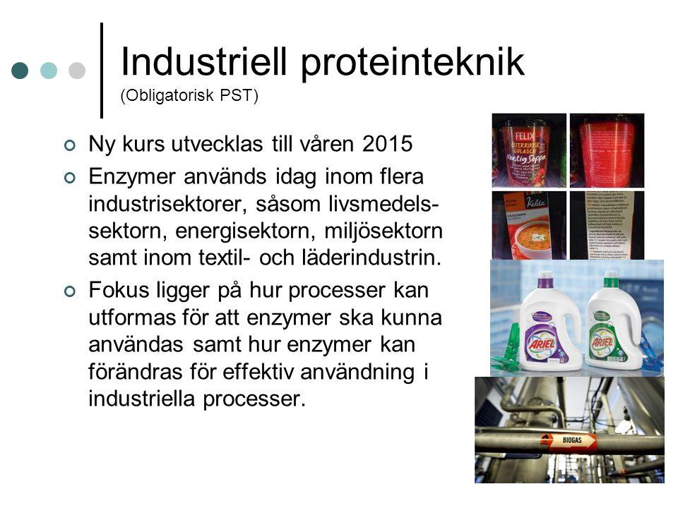 Industriell proteinteknik (Obligatorisk PST)