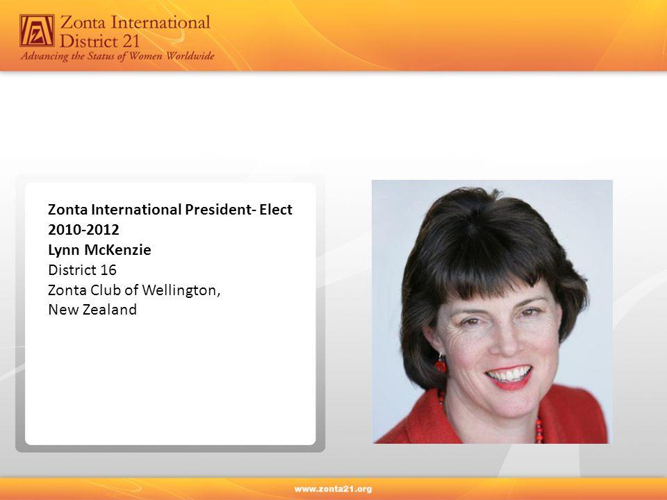 Zonta International President- Elect