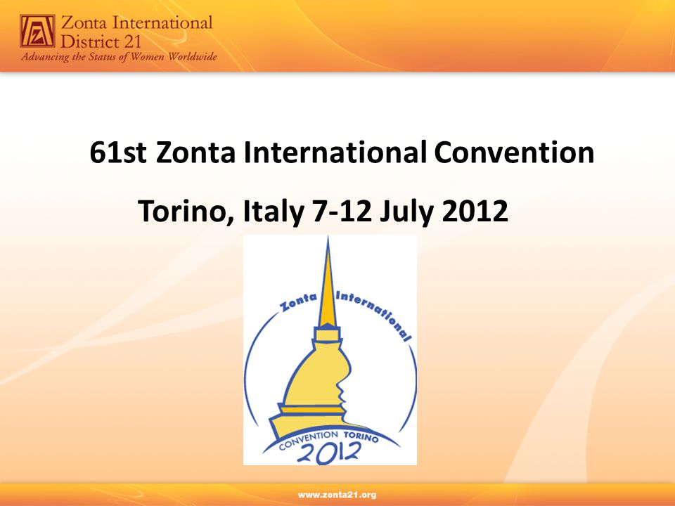 61st Zonta International Convention