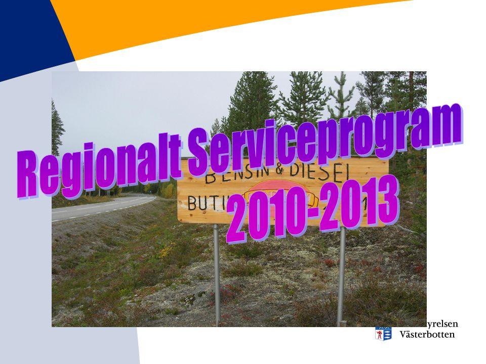 Regionalt Serviceprogram