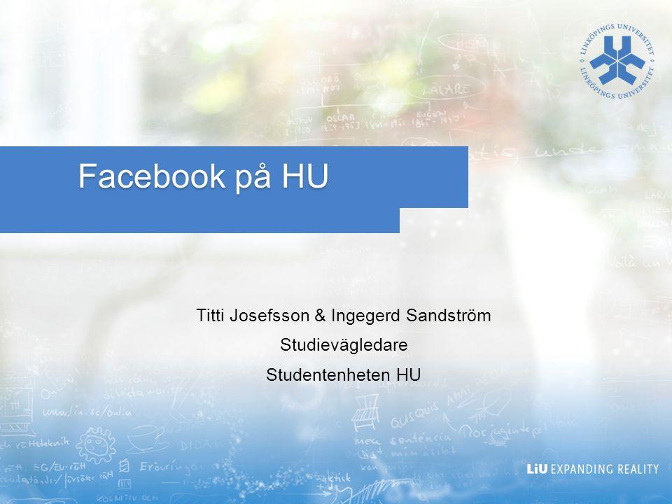 Titti Josefsson & Ingegerd Sandström
