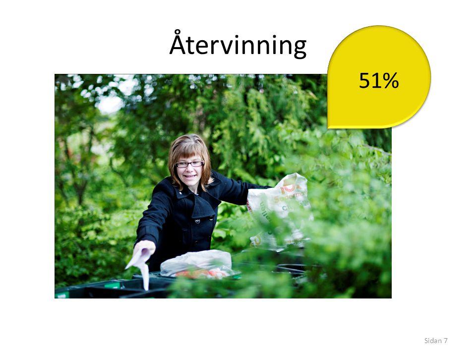 Återvinning 51%
