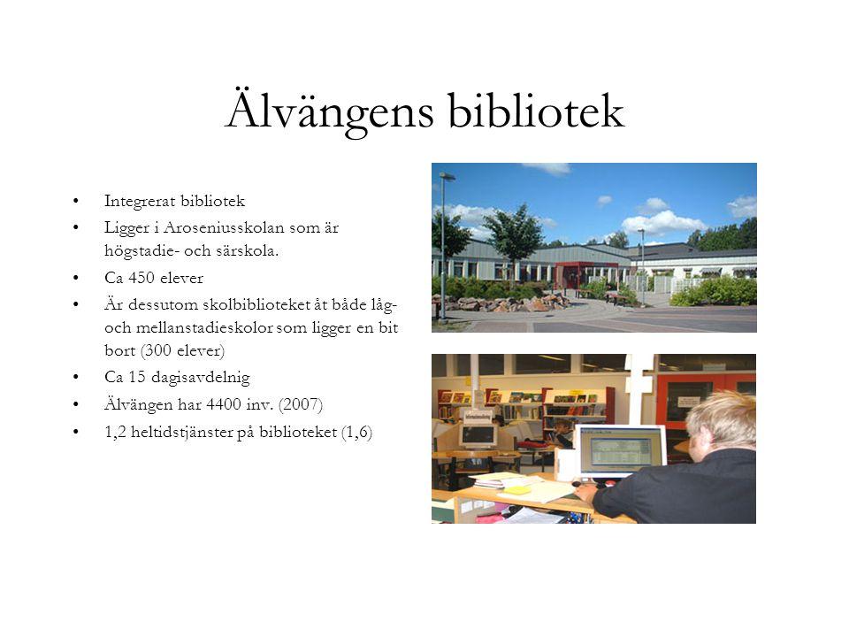 Älvängens bibliotek Integrerat bibliotek