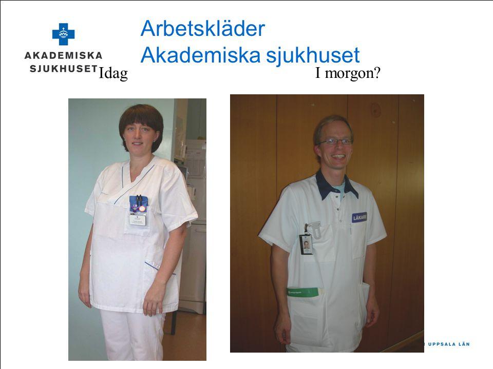 Arbetskläder Akademiska sjukhuset