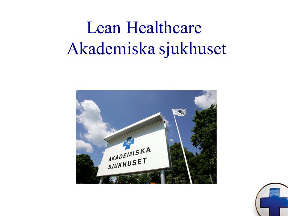 Lean Healthcare Akademiska sjukhuset