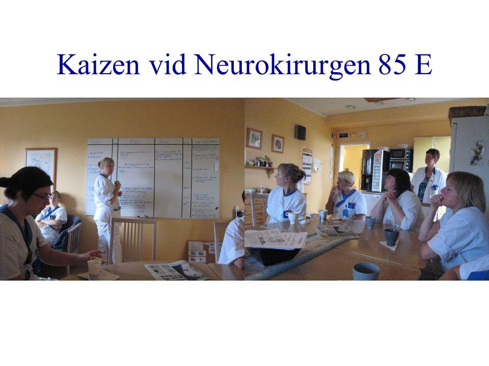 Kaizen vid Neurokirurgen 85 E