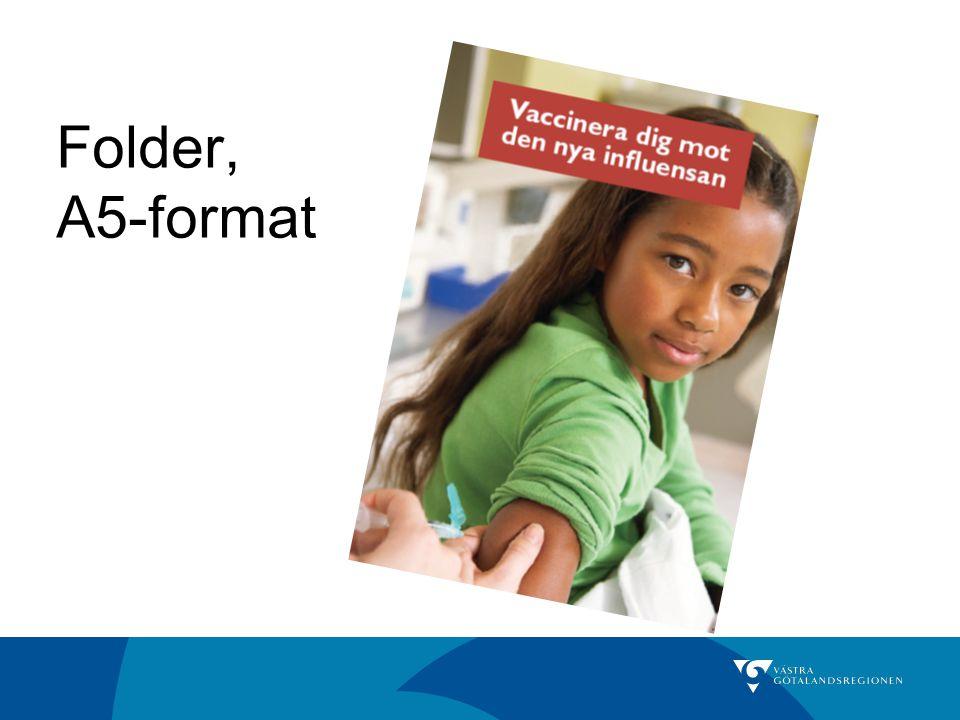 Folder, A5-format
