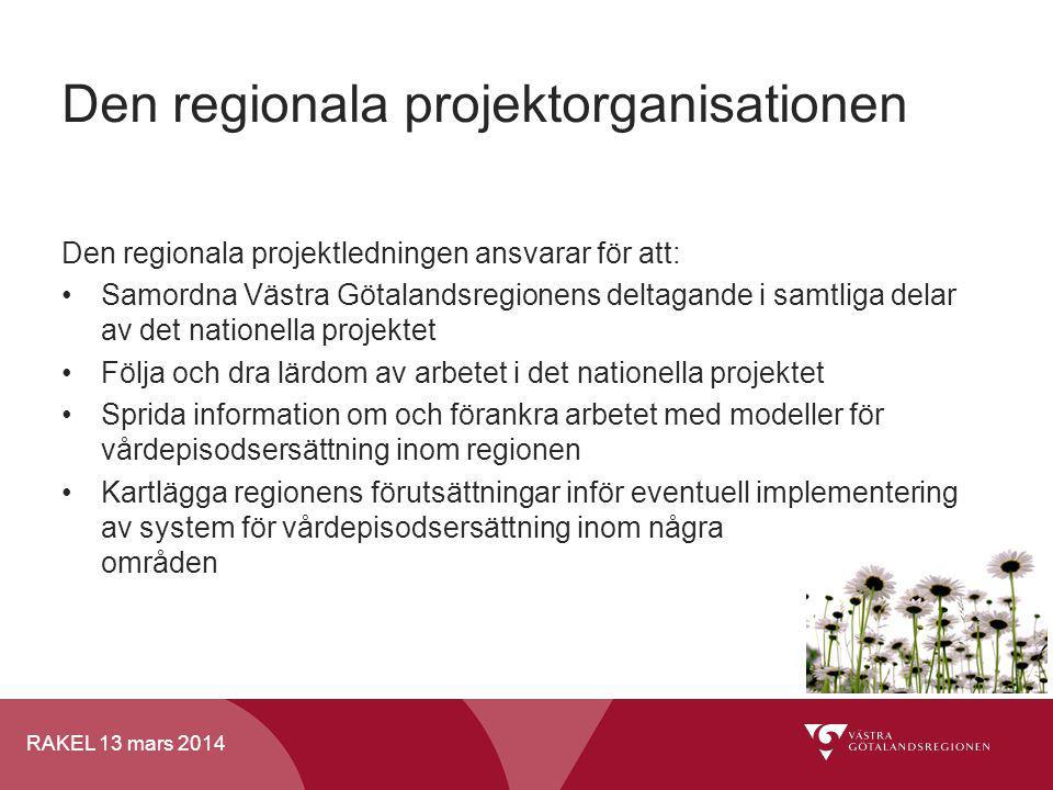 Den regionala projektorganisationen
