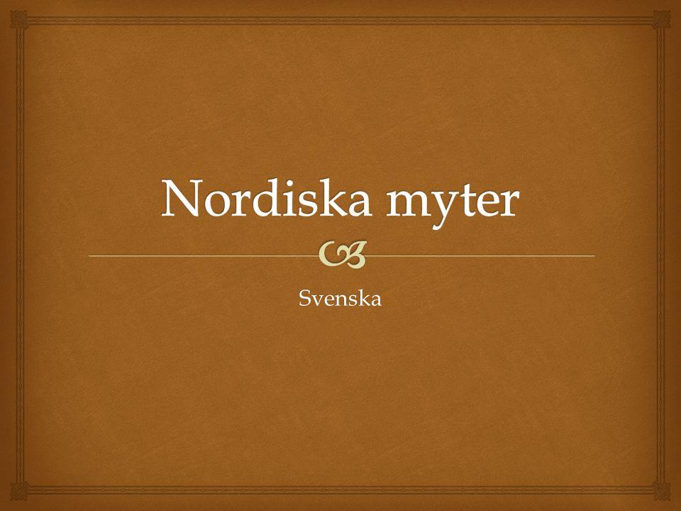 Nordiska myter Svenska