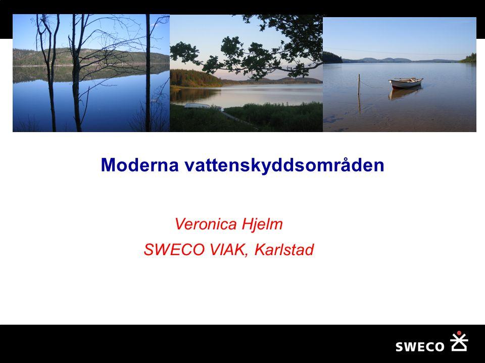 Moderna vattenskyddsområden
