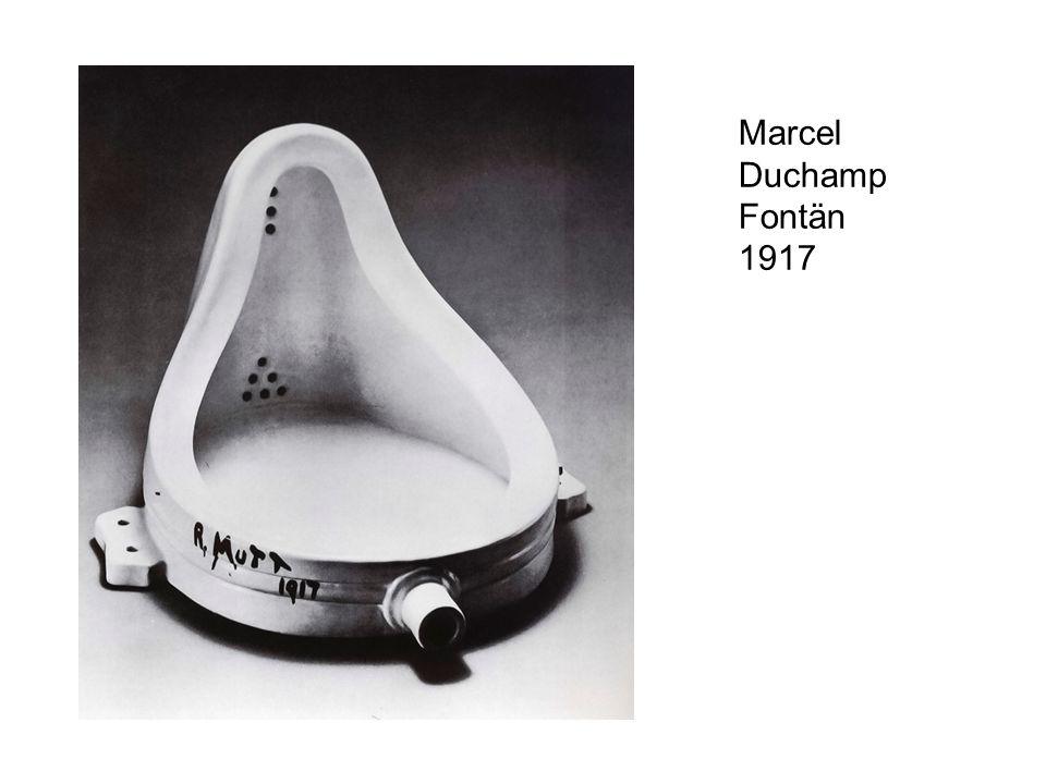 Marcel Duchamp Fontän 1917