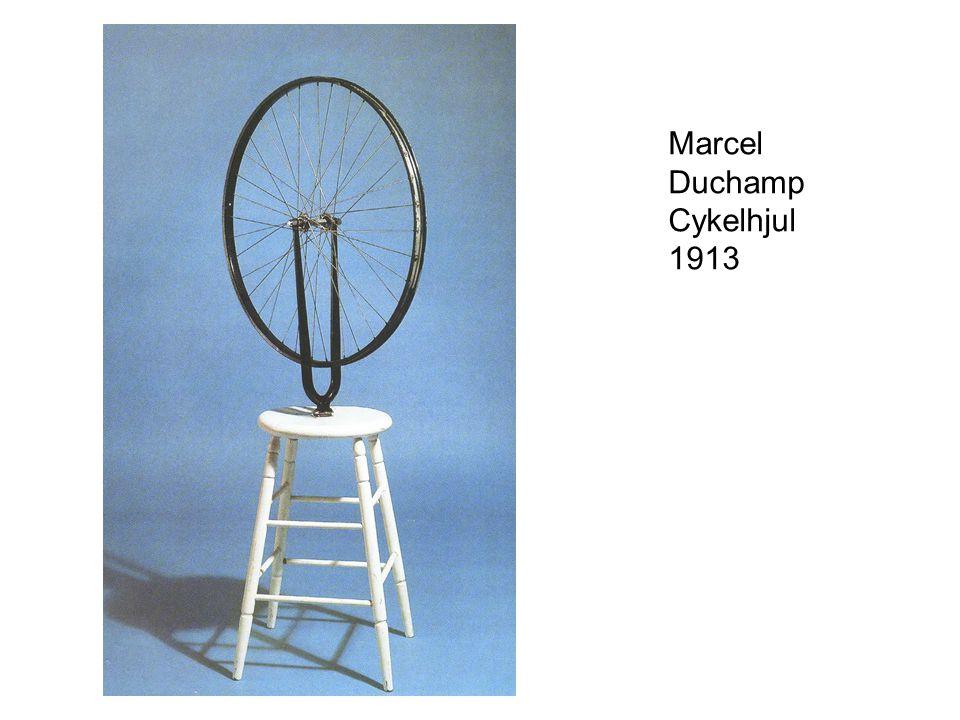 Marcel Duchamp Cykelhjul 1913