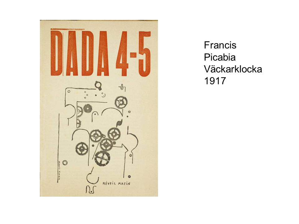 Francis Picabia Väckarklocka 1917