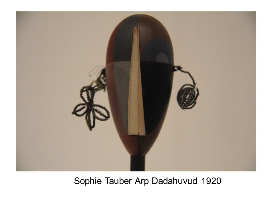 Sophie Tauber Arp Dadahuvud 1920