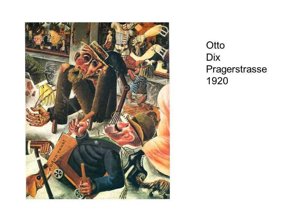 Otto Dix Pragerstrasse 1920