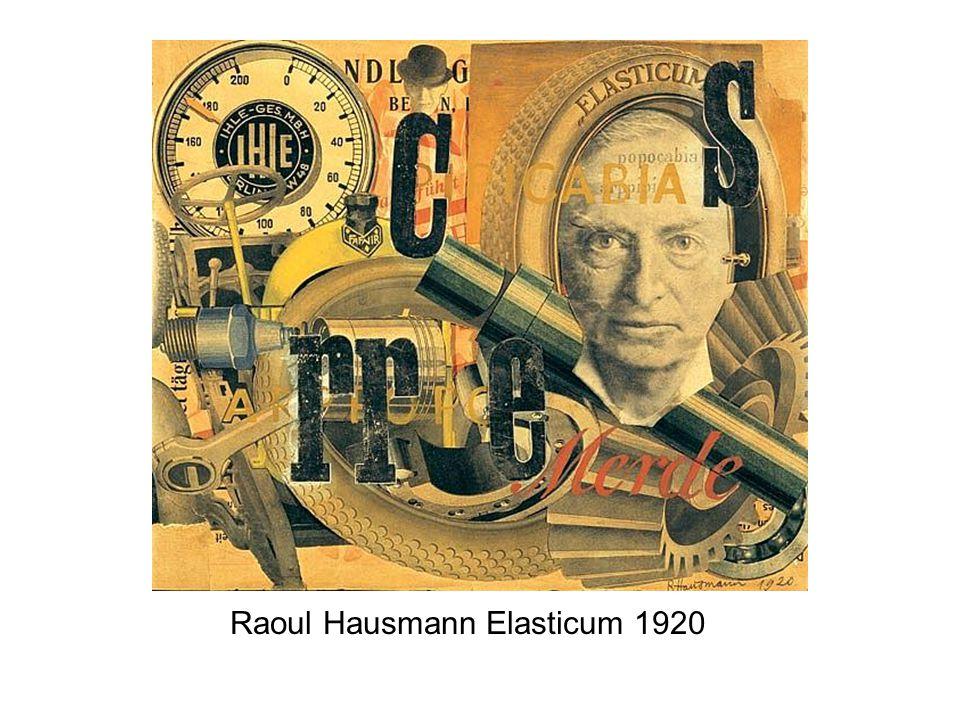 Raoul Hausmann Elasticum 1920