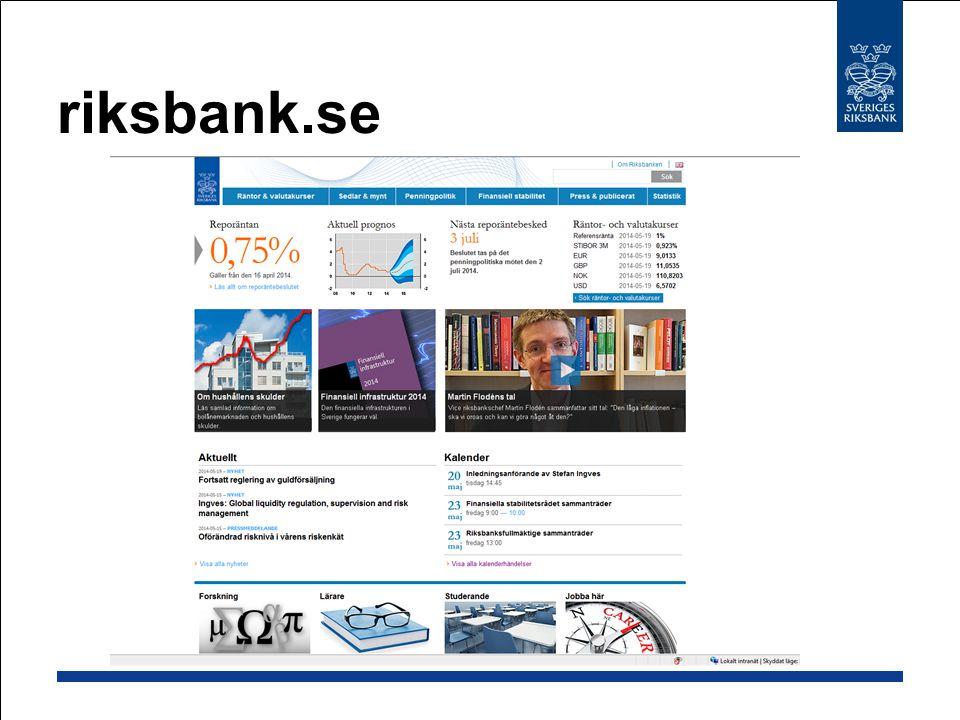 riksbank.se