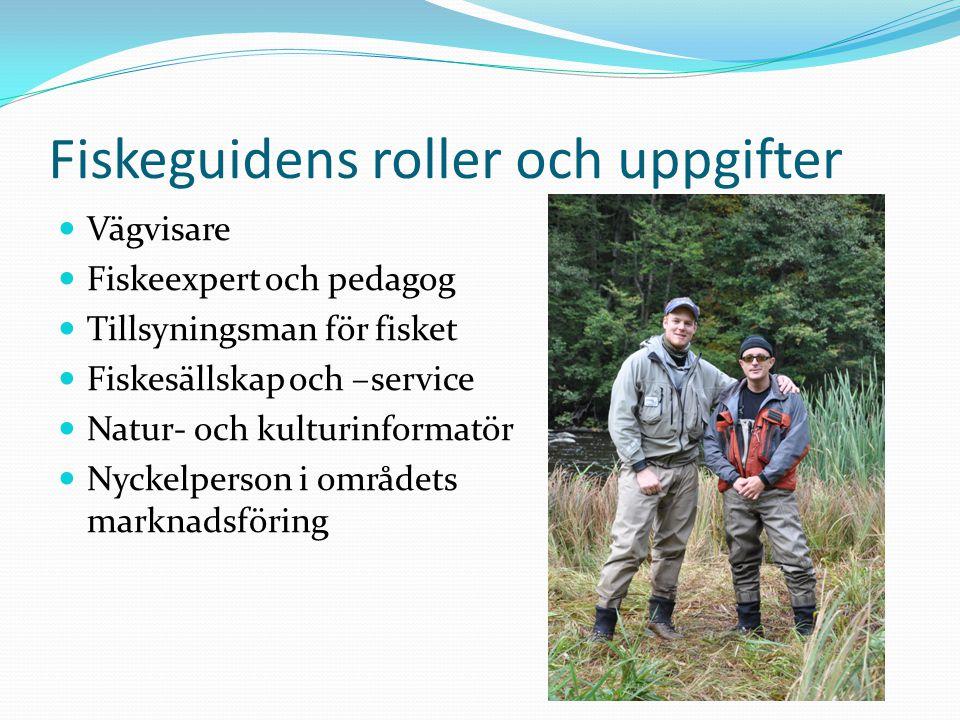 Fiskeguidens roller och uppgifter