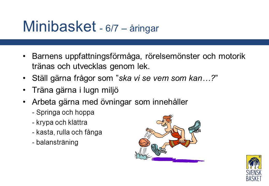 Minibasket - 6/7 – åringar