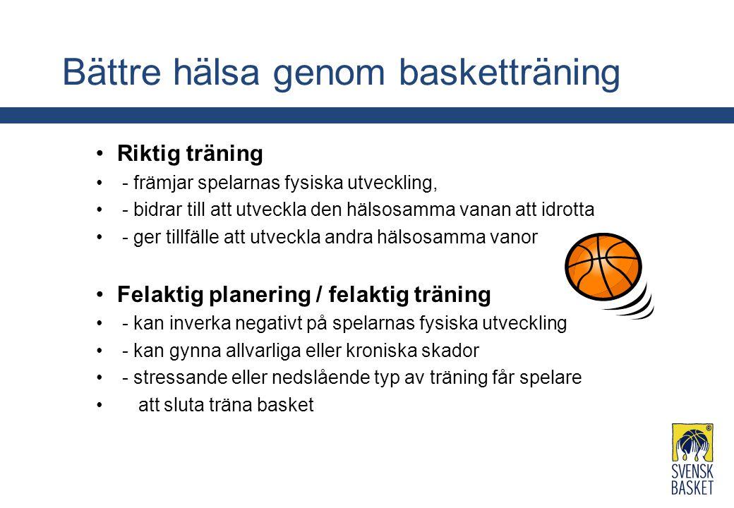 Bättre hälsa genom basketträning