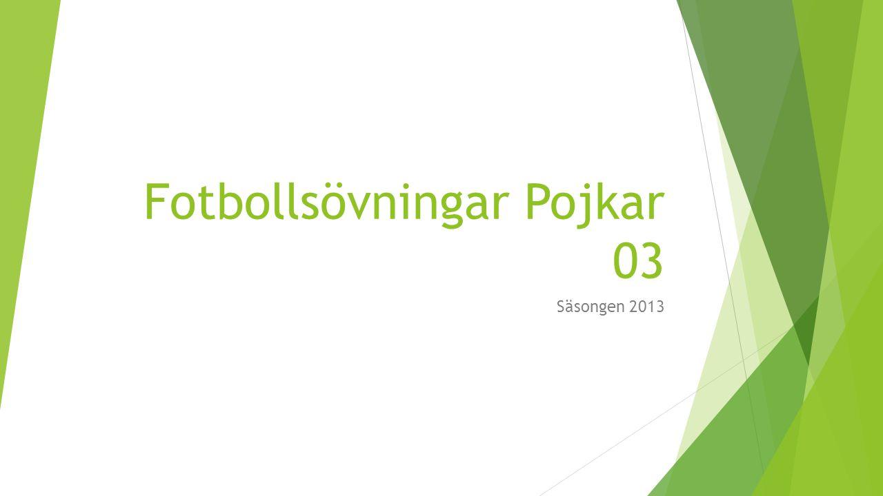 Fotbollsövningar Pojkar 03