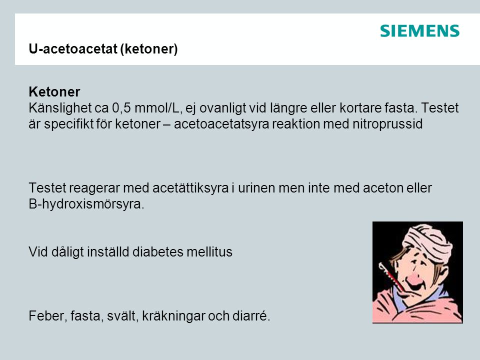 U-acetoacetat (ketoner)