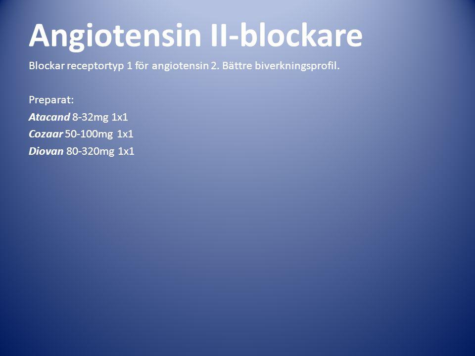 Angiotensin II-blockare