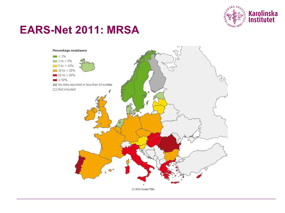 EARS-Net 2011: MRSA
