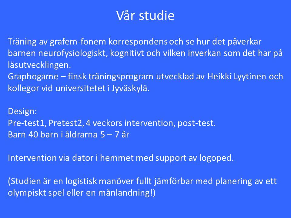 Vår studie