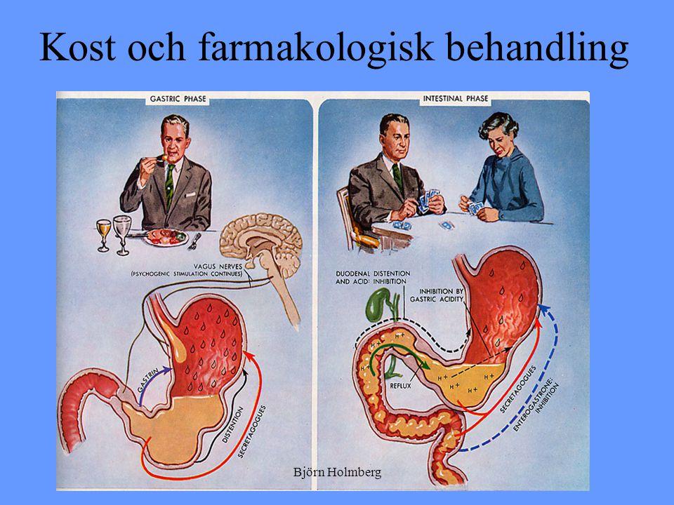 Kost och farmakologisk behandling