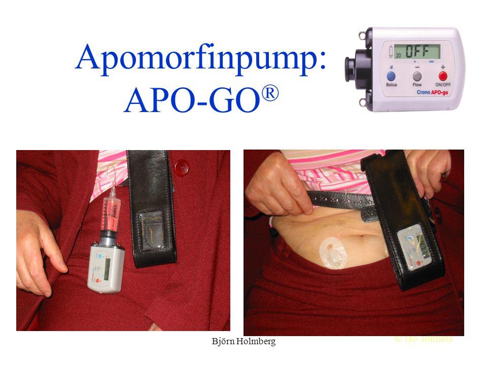 Apomorfinpump: APO-GO®