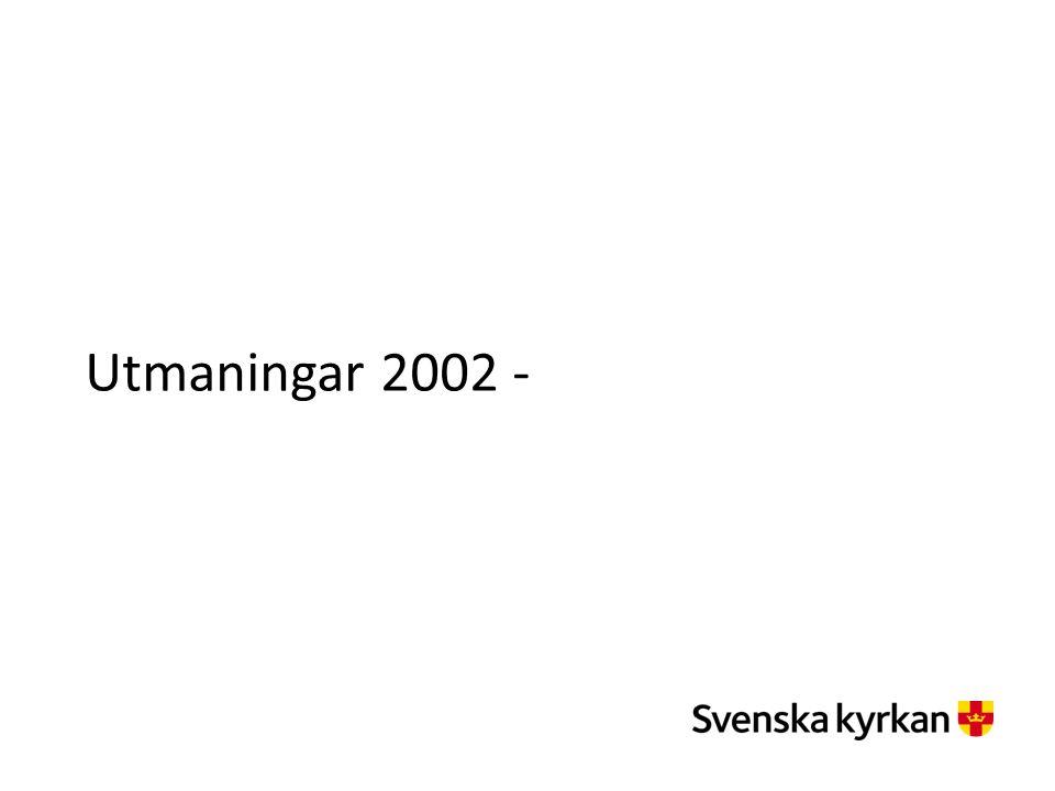 Utmaningar 2002 -