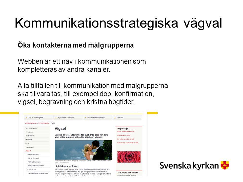 Kommunikationsstrategiska vägval