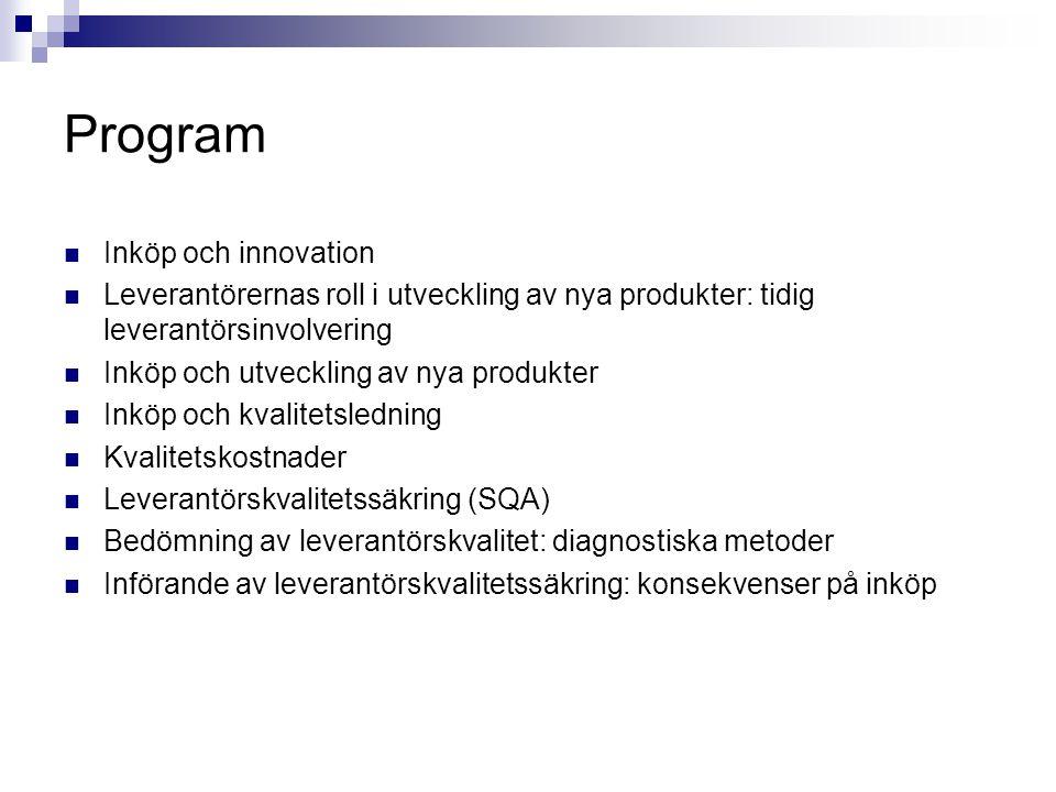 Program Inköp och innovation