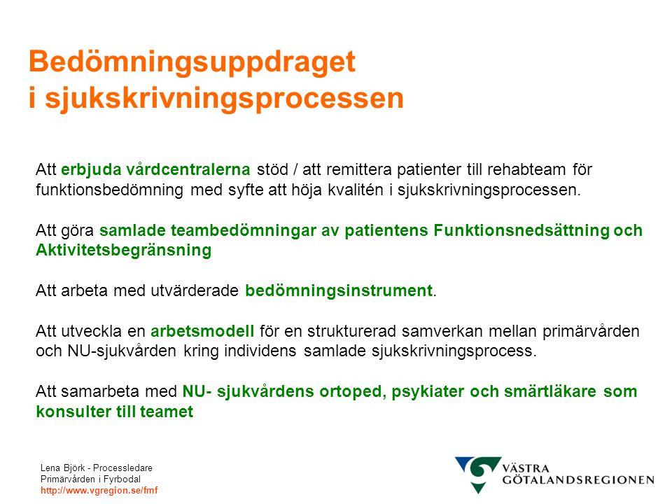 Bedömningsuppdraget i sjukskrivningsprocessen
