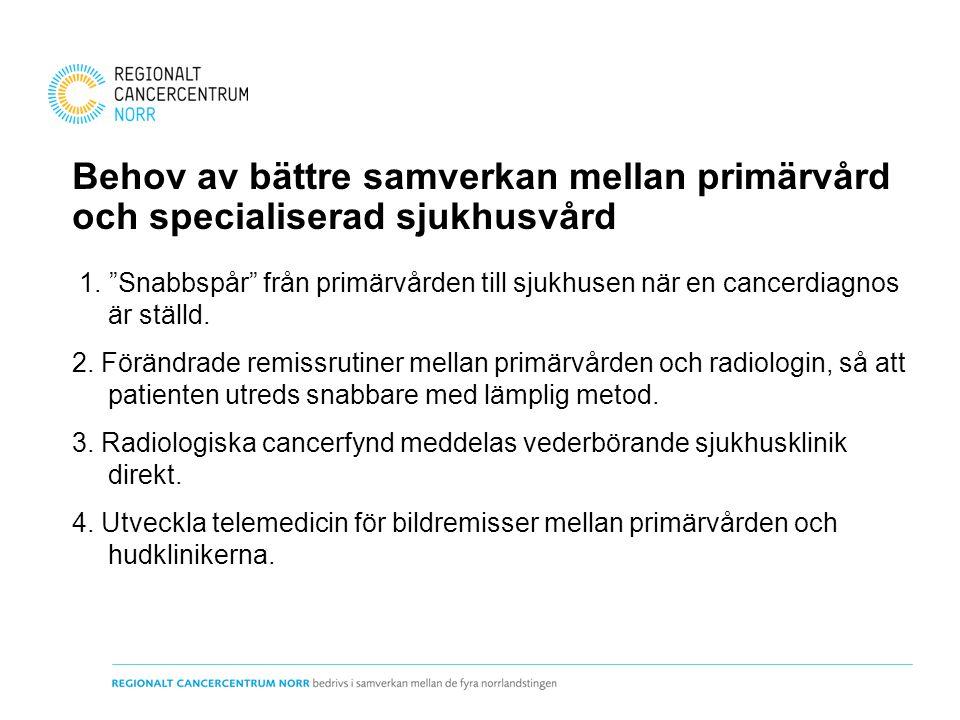 Behov av bättre samverkan mellan primärvård och specialiserad sjukhusvård