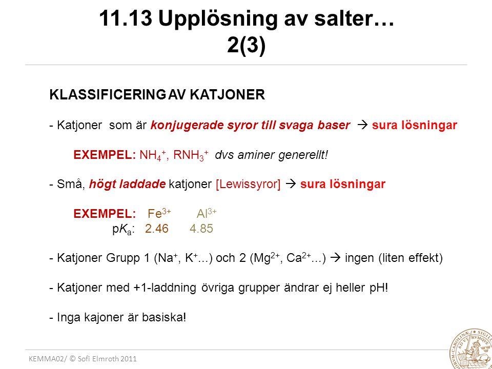 11.13 Upplösning av salter… 2(3)