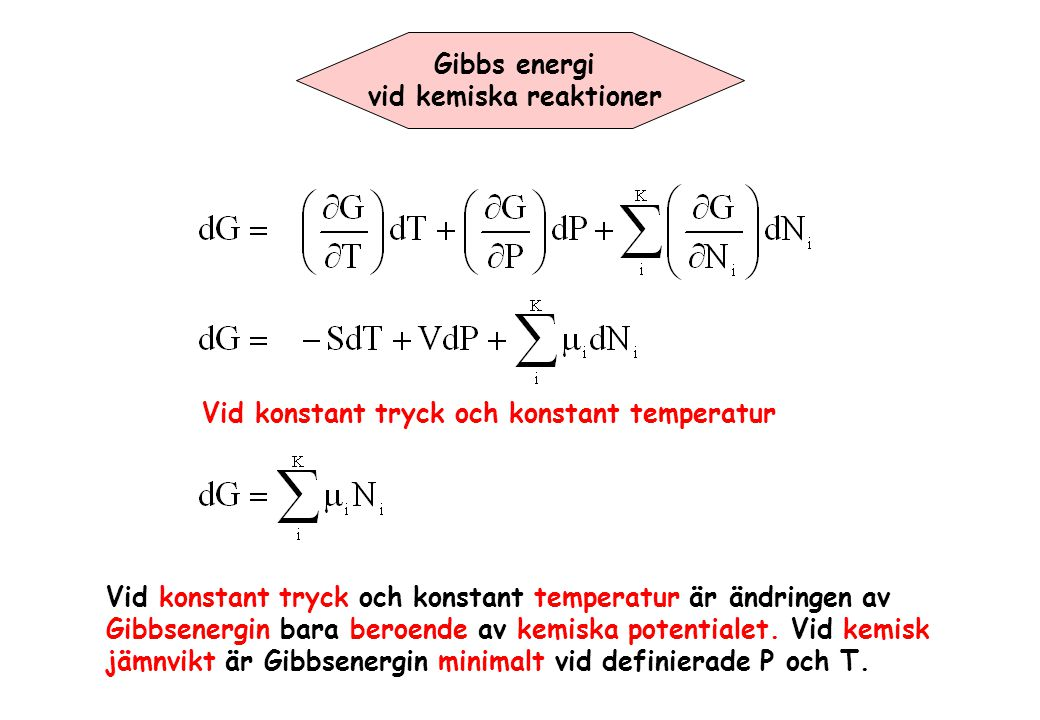 vid kemiska reaktioner