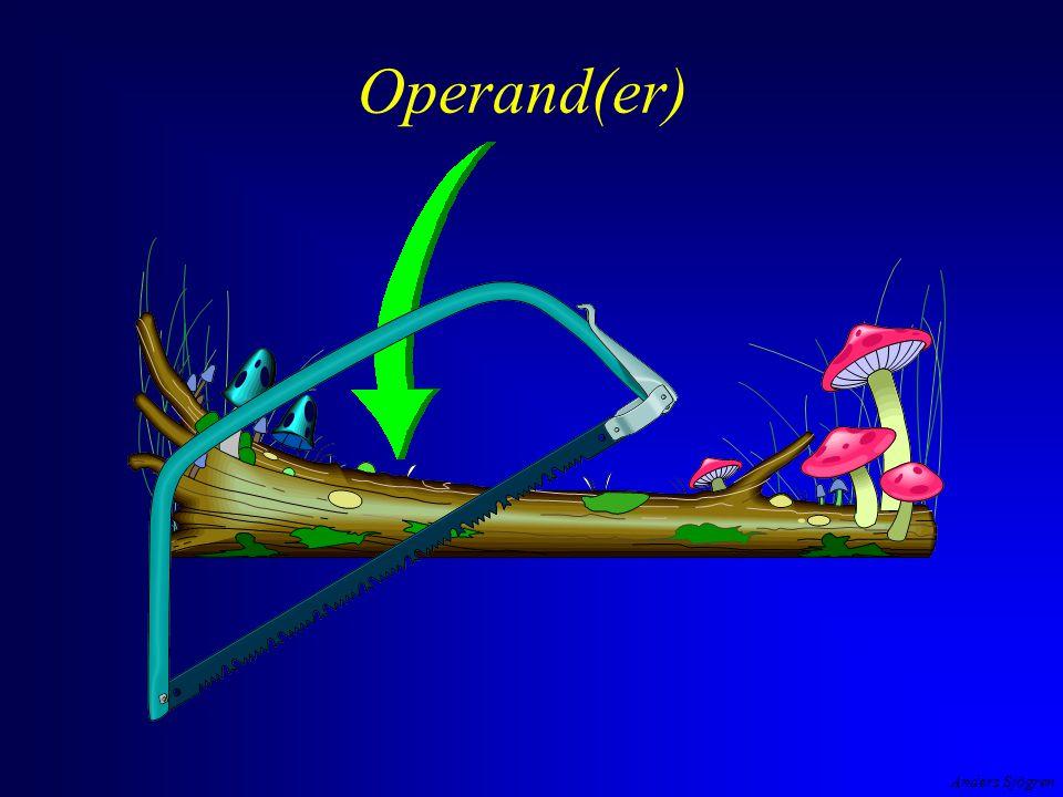 Operand(er)