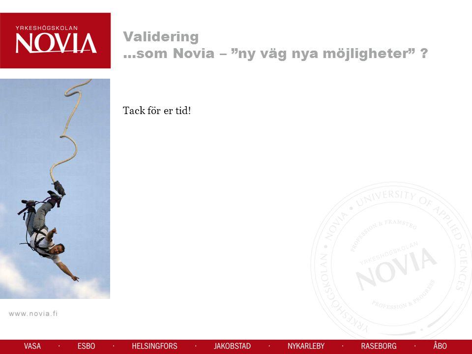 ...som Novia – ny väg nya möjligheter