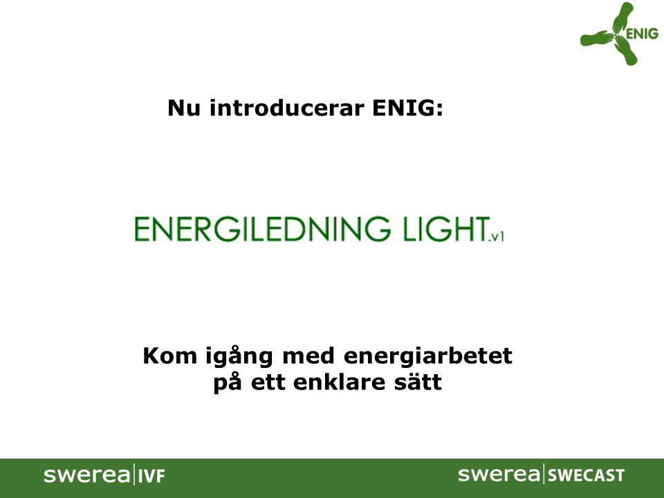 Kom igång med energiarbetet på ett enklare sätt