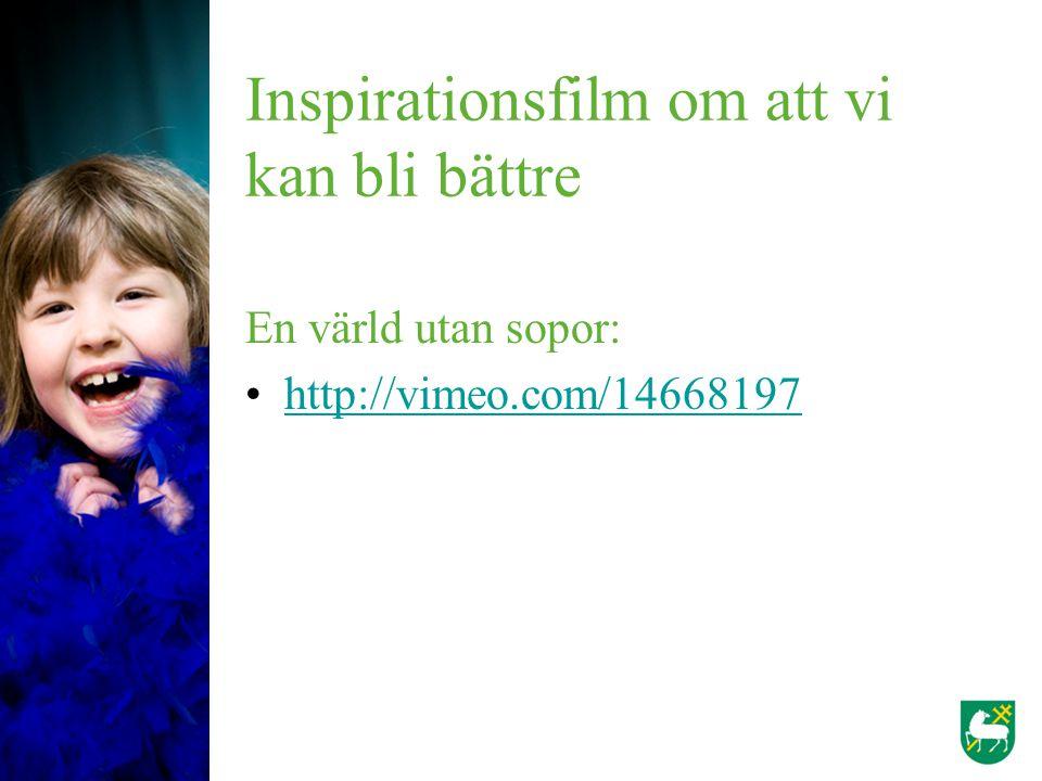 Inspirationsfilm om att vi kan bli bättre